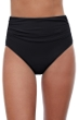 Profile by Gottex Tutti Frutti Black High Waisted Tankini Bottom
