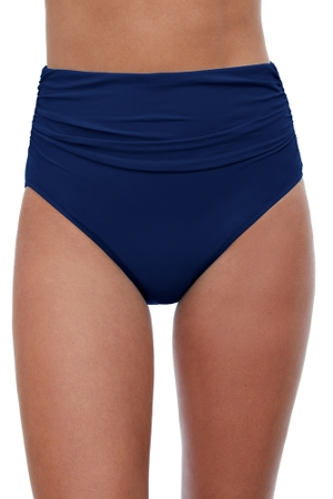 Profile by Gottex Tutti Frutti Navy High Waisted Tankini Bottom