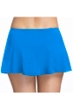 Profile by Gottex Tutti Frutti Blue Side Slit Cinch Swim Skirt
