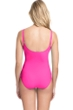 Profile by Gottex Tutti Frutti Peasant Shirred One Piece Swimsuit