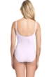 Profile by Gottex Tutti Frutti Pale Pink Peasant Shirred One Piece Swimsuit