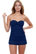 Profile by Gottex Tutti Frutti Bandeau Strapless Shirred Swimdress