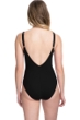 Profile by Gottex Tutti Frutti Center Ruched V-Neck One Piece Swimsuit