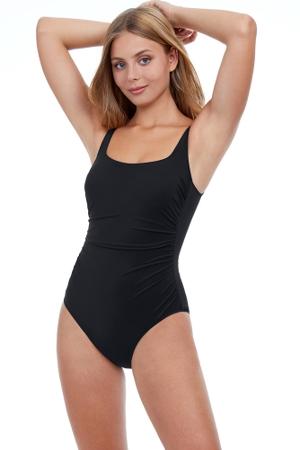 Profile by Gottex Tutti Frutti Round Neck One Piece Swimsuit