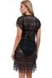 Profile by Gottex Tutti Frutti Crochet Cover Up Dress
