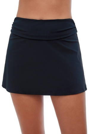 Profile by Gottex Tutti Frutti Black Cover Up Skirt