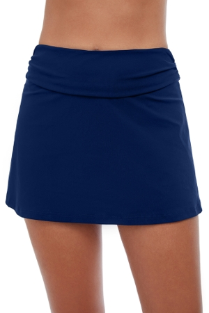 Profile by Gottex Tutti Frutti Navy Cover Up Skirt