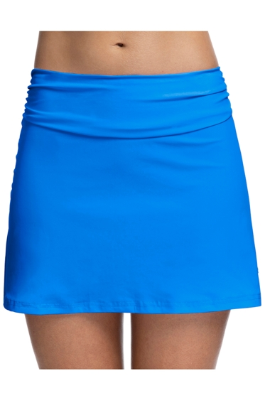 Profile by Gottex Tutti Frutti Blue Cover Up Skirt