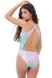 Gottex Girls Textured Ombre Round Neck One Piece Swimsuit