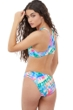 Gottex Girls Tie Dye High Neck Bikini Top with Matching Bikini Bottom