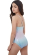 Gottex Kids Textured Ombre Round Neck One Piece Swimsuit