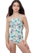 Gottex Kids Multi Palms High Neck One Piece Swimsuit