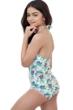 Gottex Kids Multi Palms High Neck One Piece Swimsuit