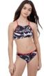 Gottex Kids Graffiti Bralette Bikini Top with Matching Bikini Bottom