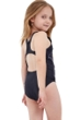 Gottex Kids Silver Skull Sporty One Piece Swimsuit