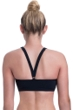 Free Sport by Gottex Urbaneer Black High Neck Sheer Bikini Top