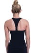 Free Sport by Gottex Urbaneer Black D-Cup High Neck Tankini Top