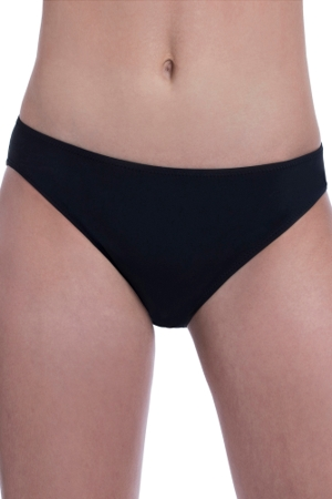 Free Sport by Gottex Black 2.5 Inch Hipster Bikini Bottom