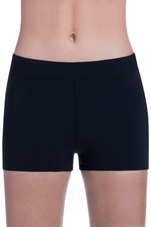 Free Sport by Gottex Black Boy Leg Short