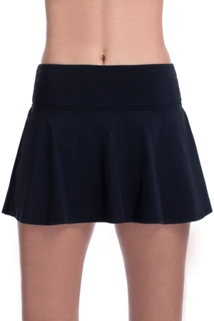 Free Sport by Gottex Black Fit And Flare Swim Skirt
