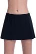 Free Sport by Gottex Black Banded Swim Skirt