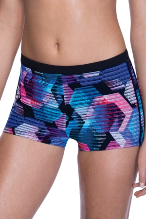 Profile Sport by Gottex Cosmos Boyshort Swim Bottom