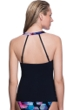 Profile Sport by Gottex Cosmos D-Cup Underwire H-Back Tankini Top
