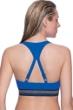 Profile Sport by Gottex Impact Blue D-Cup Racerback Bikini Top
