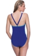 Profile Sport by Gottex DNA Indigo V-Back One Piece Swimsuit