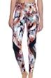 Profile Sport by Gottex Moonstone Brown UV Protective Mesh Inset Swim Leggings