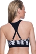 Profile Sport by Gottex White Noise D-Cup Racerback Bikini Top