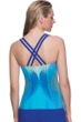Profile Sport by Gottex Genesis Strappy Back D-Cup Underwire Tankini Top