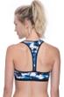 Free Sport Gazzetta Blue Strappy Bikini Top