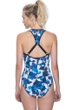 Free Sport Gazzetta Blue Strappy One Piece Swimsuit