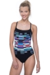 Free Sport In Tune Red Strappy One Piece Swimsuit