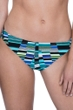 Free Sport In Tune Green 2 Inch Hipster Bikini Bottom