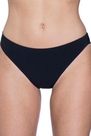 Free Sport Black 2 Inch Hipster Bikini Bottom