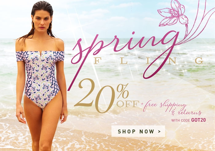 20% OFF Gottex Brand Swimwear