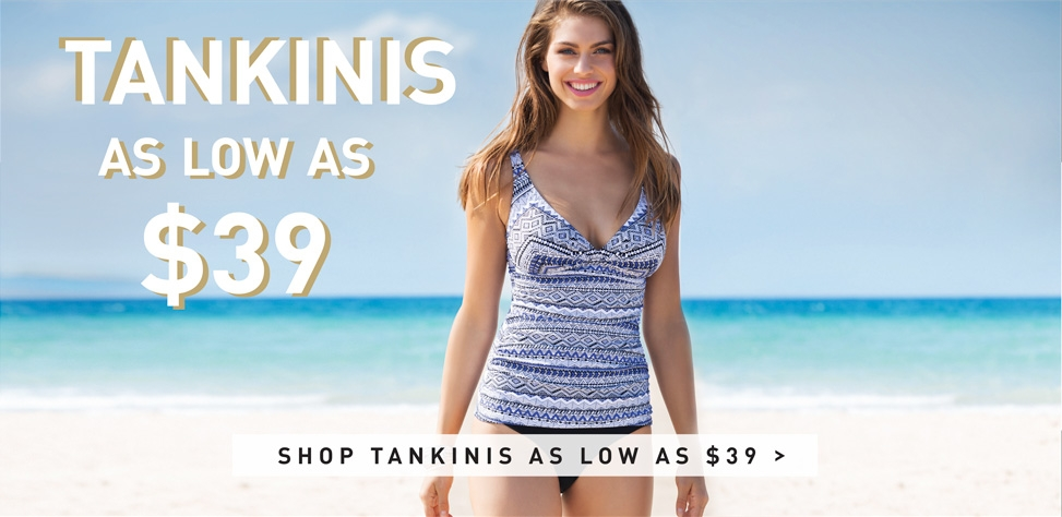 Shop Gottex Outlet Tankinis - Prices As Low As $39